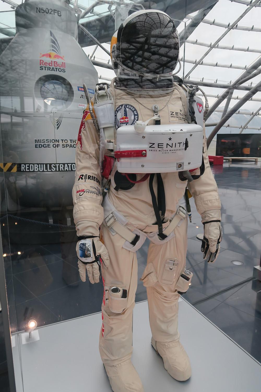 Felix Baumgartner's suit