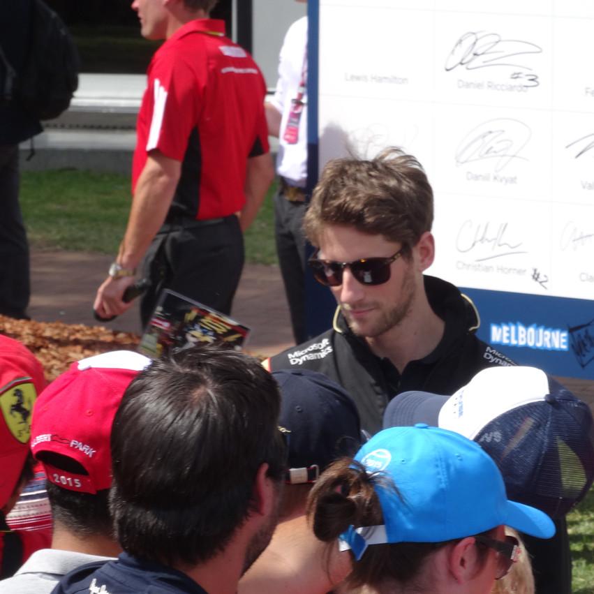 F1 drivers- Grosjean