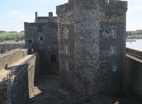 Outlander Locations | Blackness Castle / Fort William