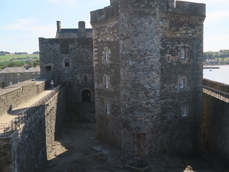 Outlander Locations   Blackness Castle / Fort William