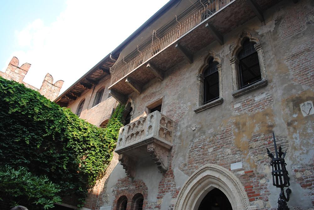 Verona- Juliet's balcony