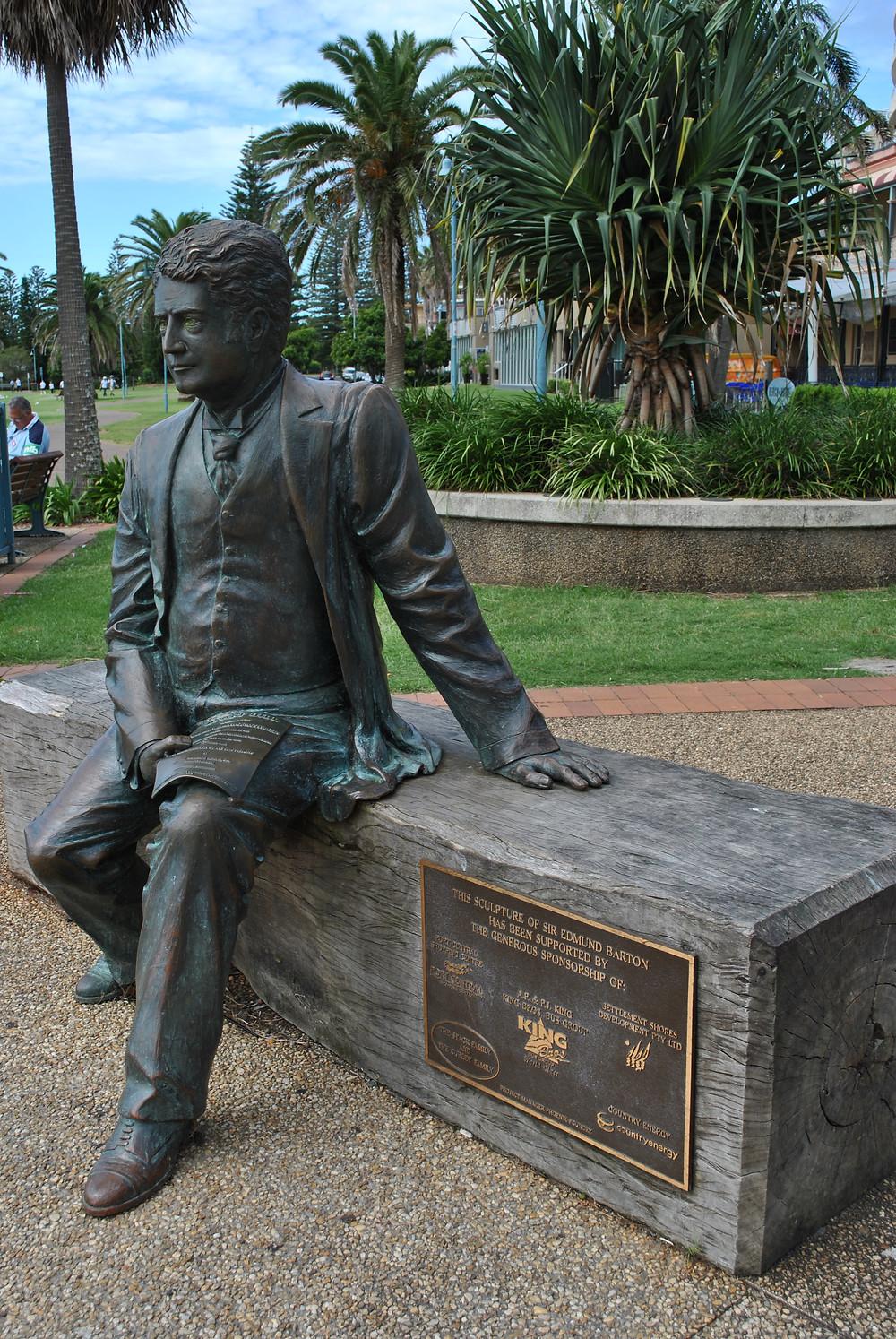 Edmund Barton Oz 1st Prime Minister