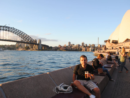 Sydney sightseeing, seeing celebrities and 200 days of travelling!