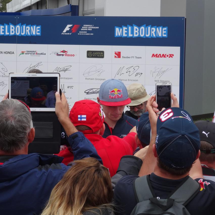 F1 drivers- Verstappen