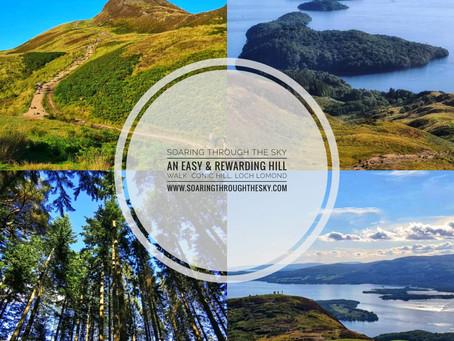 An Easy & Rewarding Hill Walk | Conic Hill, Balmaha, Loch Lomond