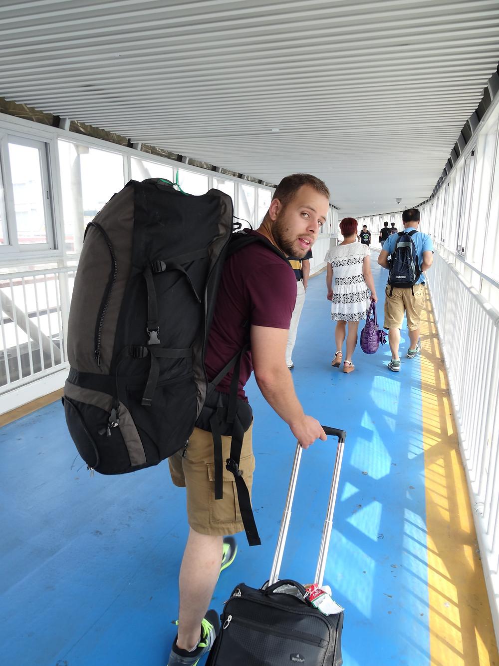 leaving Macau