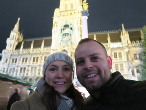 Munich- Arrival, and Useful German Phrases