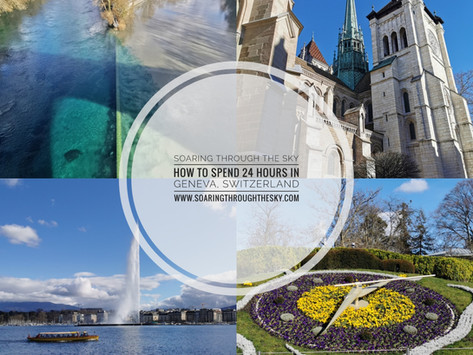 How To Spend 24 Hours In Geneva, Switzerland