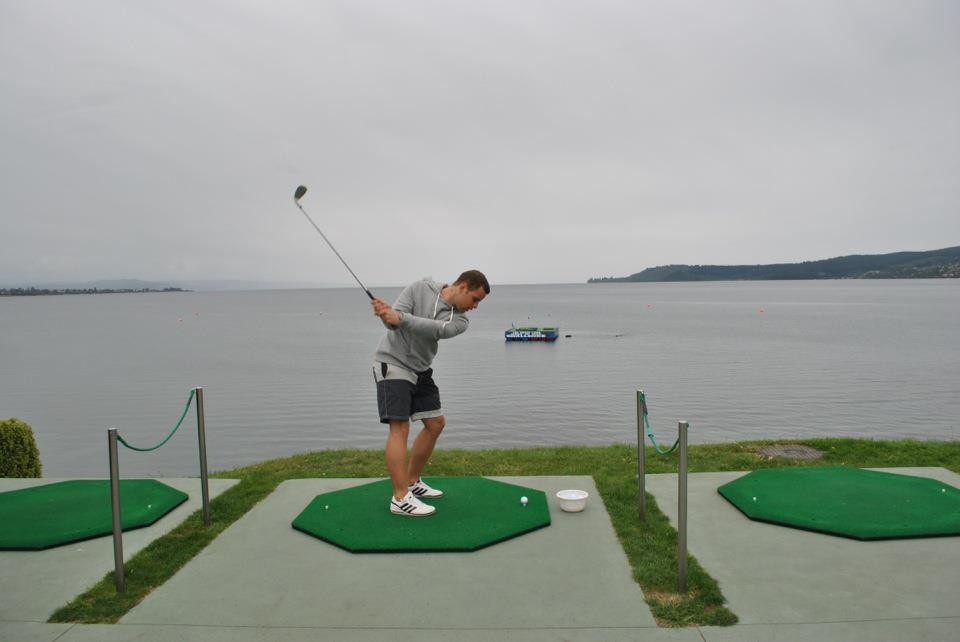 Taupo Hole in 1