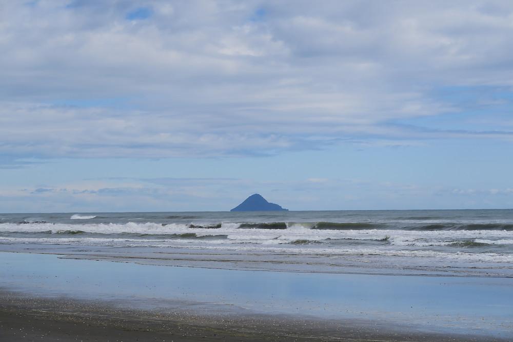 Views from Opotiki to White Island