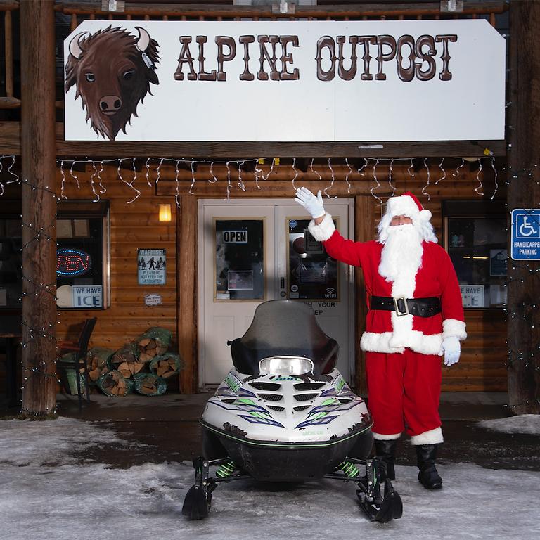 Alpine Christmas Eve Dinner Party