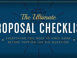 Proposal Checklist - 7 Things You Must Do Before Popping the Question (Infographic)