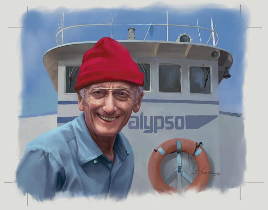 Cousteau Portrait