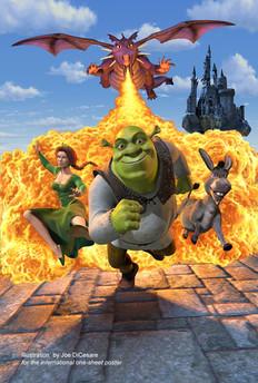 Movie Poster Key Art, Shrek