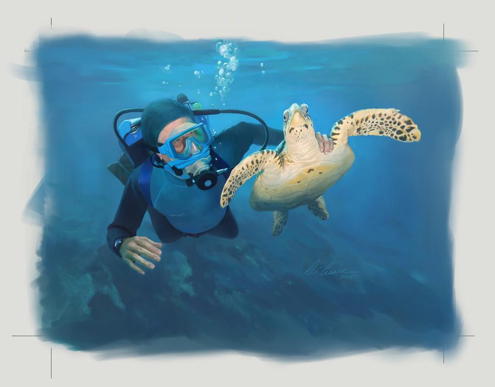 Cousteau  Dive