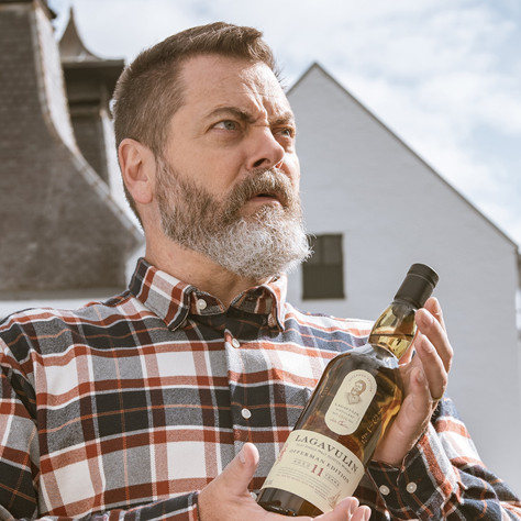 San Francisco World Spirits Competition Gold Medal Winner for Lagavulin Offerman Edition