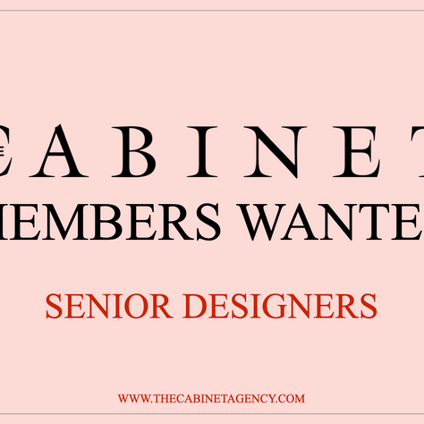 We're Hiring: Senior Designer Role