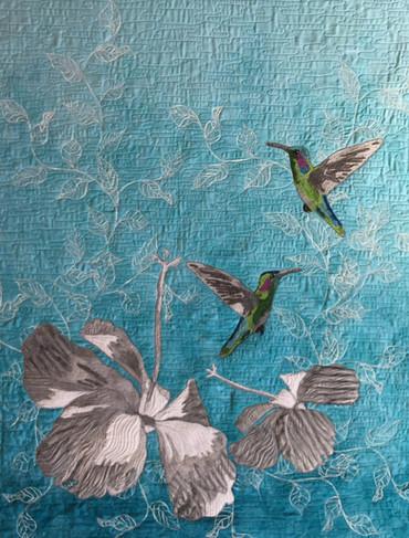 Hummingbirds in the Garden