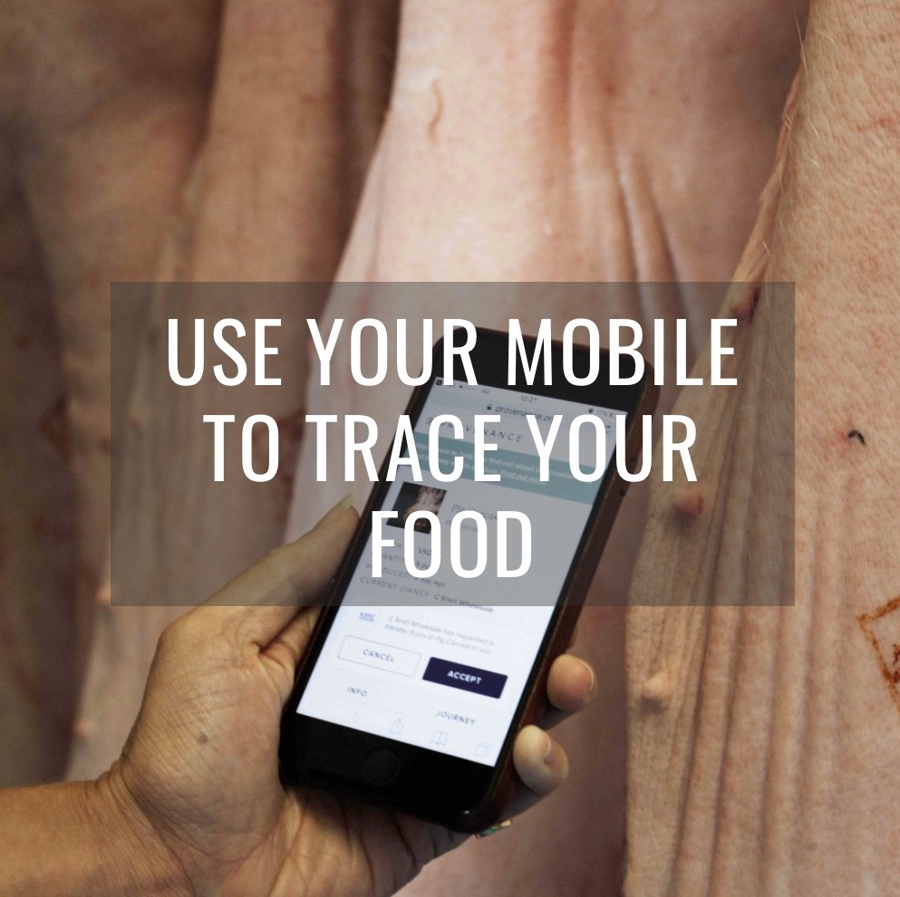 Use Your Mobile to Trace Your Food