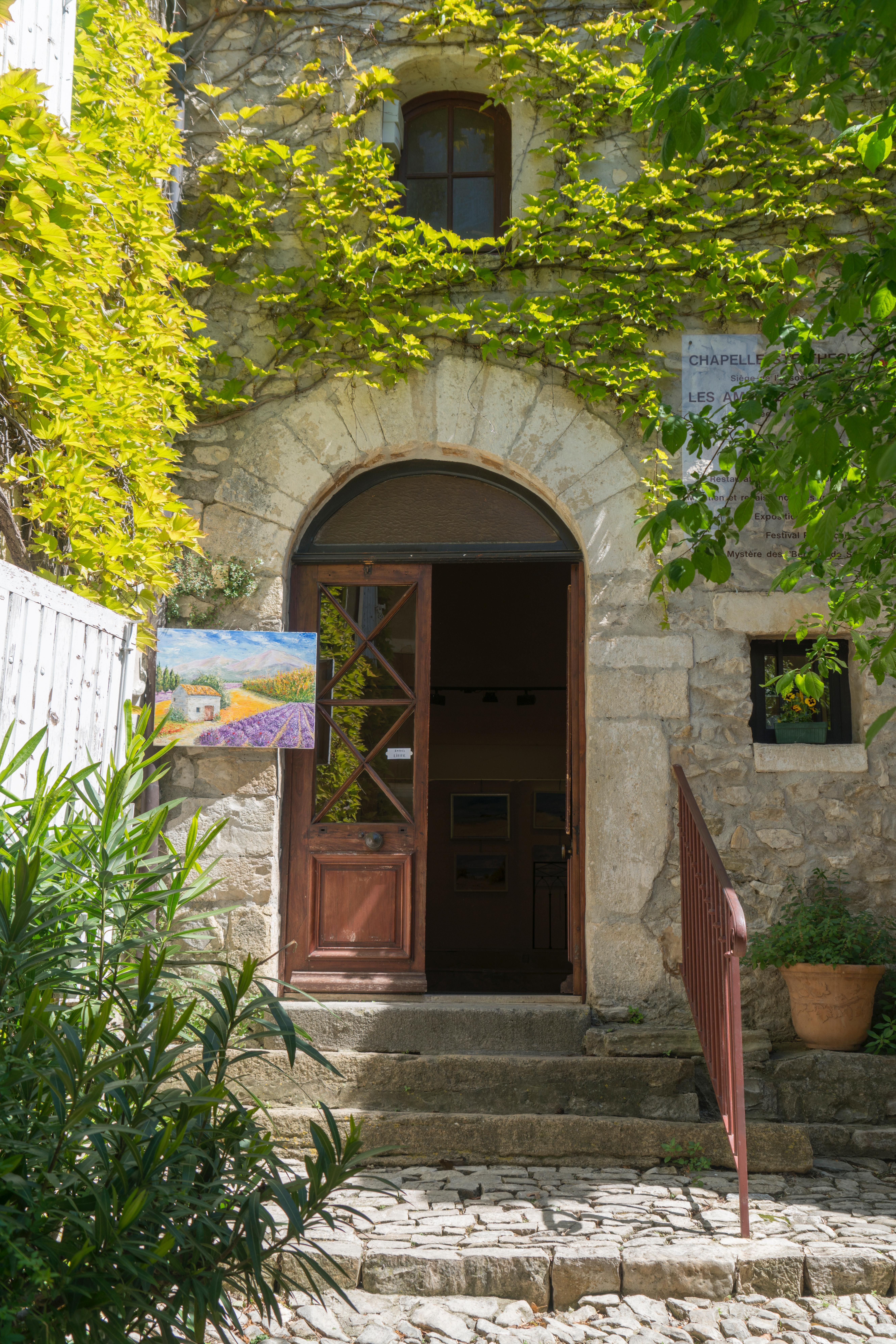 Art gallery in Séguret