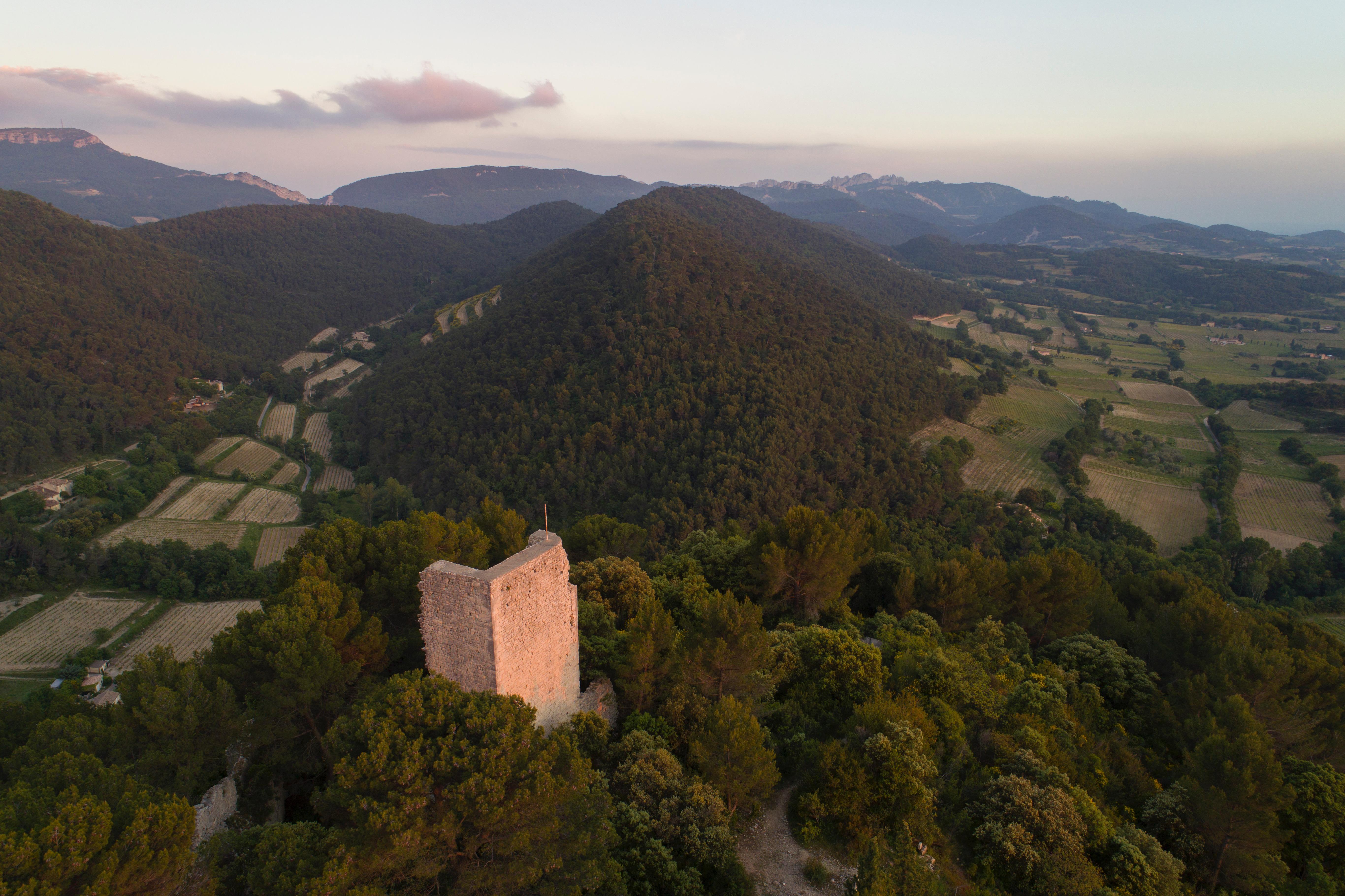 Séguret's chateau