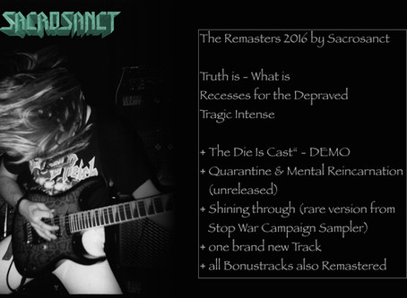 SACROSANCT-Re-Releases planned