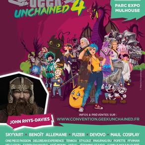 La Geek Unchained, une 4ème édition à la hauteur de ses promesses !
