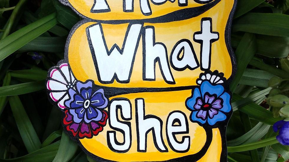 """That's What She Said"" Hangable Art"
