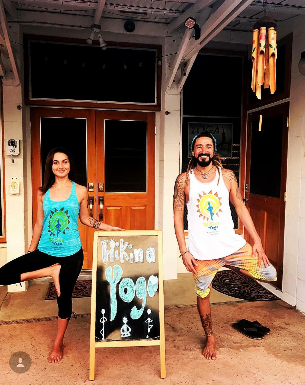 Hikina Yoga T-Shirts