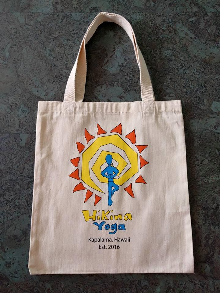 Hikina Yoga Tote Bags