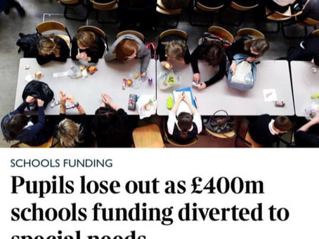 Scapegoating SEN will not Solve the School Funding Crisis.