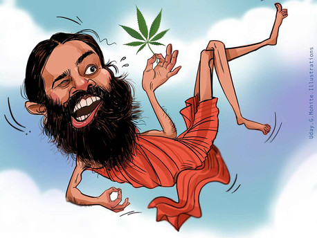 BABAJI KI BOOTI 'CORONIL' HAS EARNED ITSELF A LOT OF ATTENTION AND ALSO MEMES!