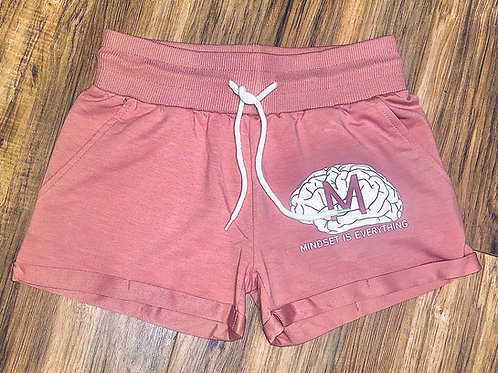 Rose Pedal Drawstring Shorts *Limited
