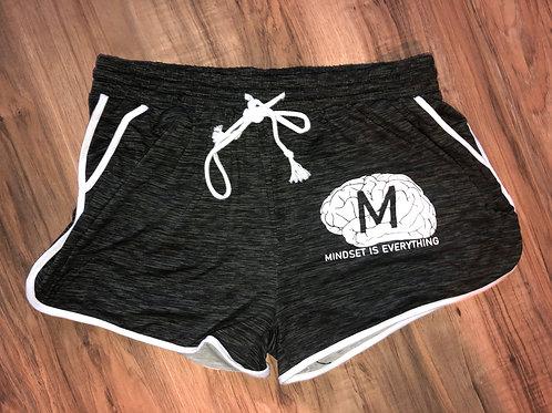Spider Drawstring Shorts (Black/Grey/White) *Limited