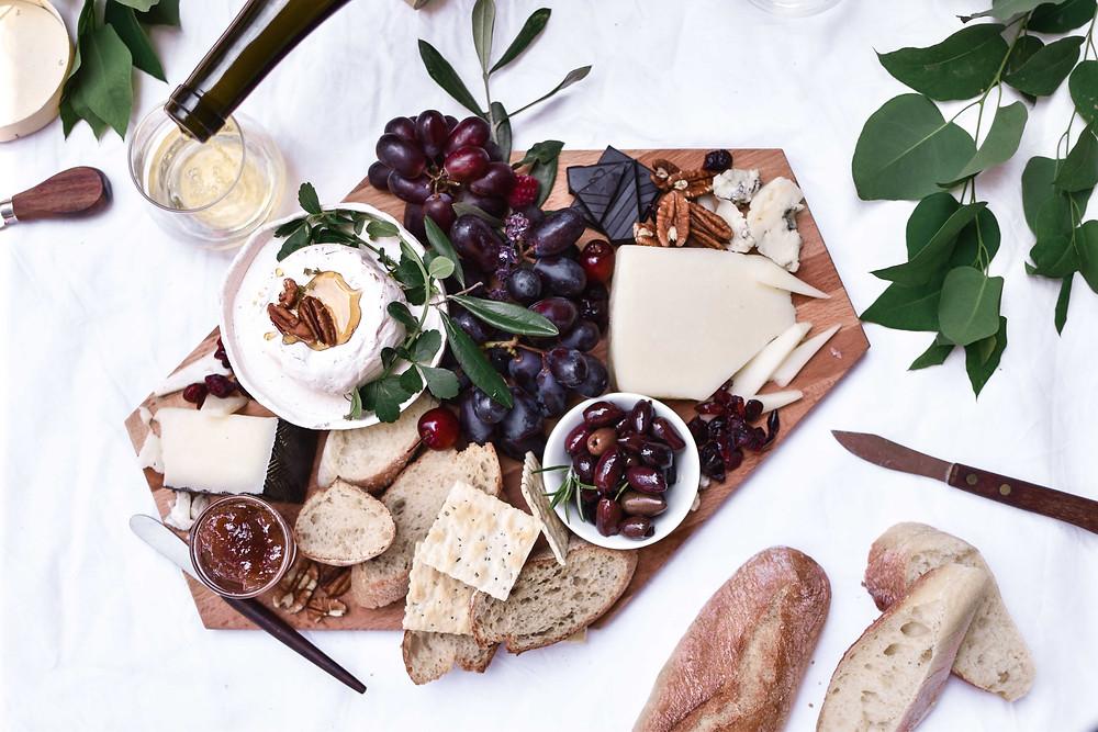 טה-דה! בלוג, איך לסדר מגש גבינות מושלם