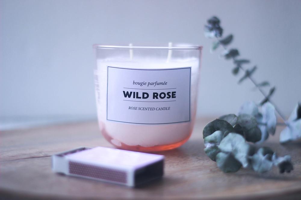 נר בניחוח ורדים ׀ טה-דה! בלוג tahda! blog