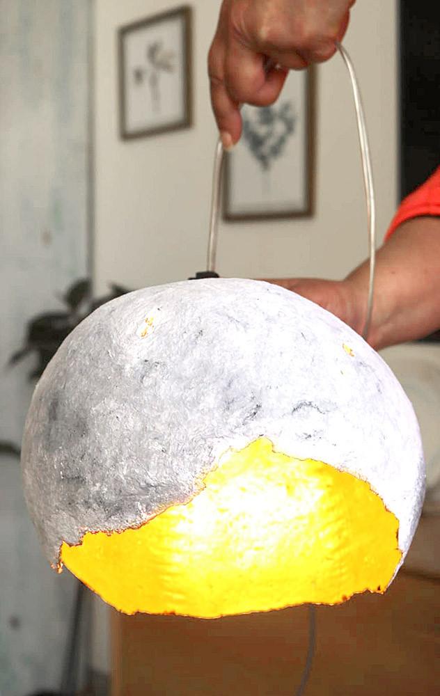 מנורה DIY | טה-דה! בלוג