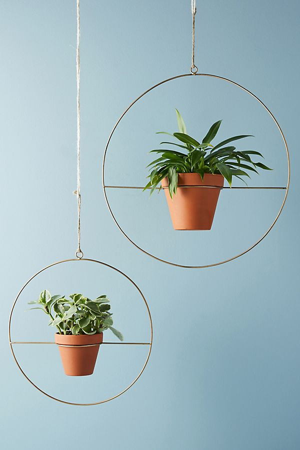 Anthropologie Geo Plant Hanger