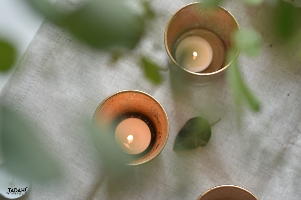 פמוטי זהב זכוכית מרקורי ׀ טה-דה! בלוג