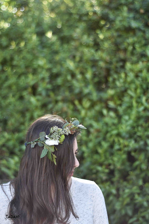 כתר פרחים אביבי בשתי דקות ׀ טה-דה! בלוג