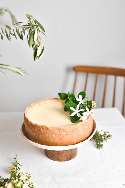 טה-דה! בלוג - עוגת גבינה ושוקולד לבן