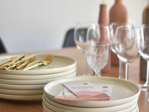 עיצוב שולחן בוהו-סטייל לראש השנה