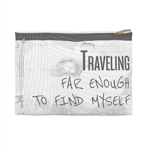 Traveling to Find Yourself Poolside Pouch