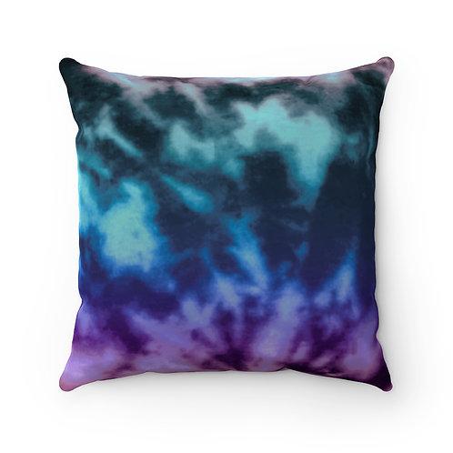 2 Dye 4- Dark Gradient Square Pillow Case