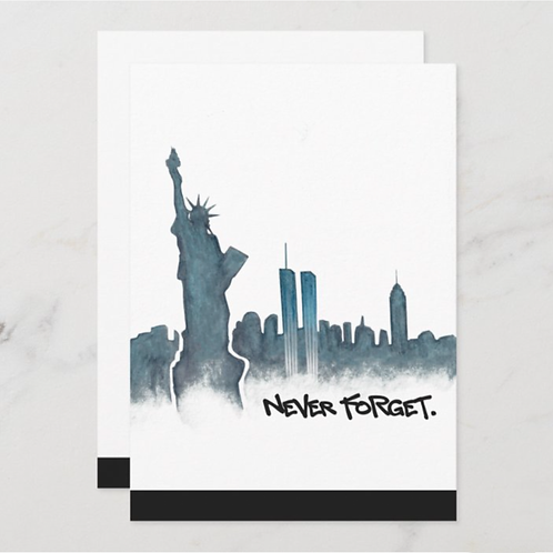 Never Forget NYC 2020- BLANK