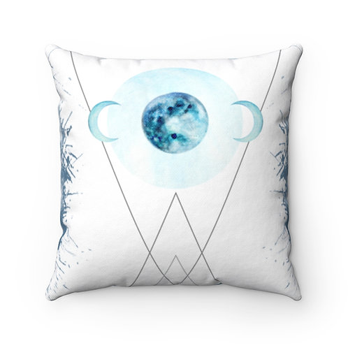 Moon Phase Square Pillow Case