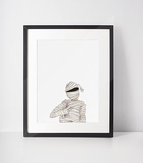 Gangster Wrapper Print
