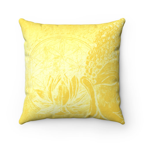 Buddha Square Pillow Case