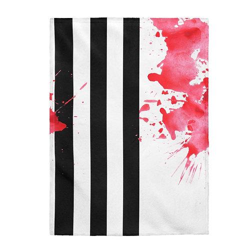 Sticky Stripes Plush Blanket