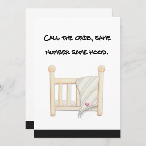 Call The Crib- BLANK Back